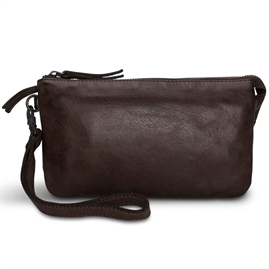 Pia Ries - Washed Combi Clutch style 060 - Brun