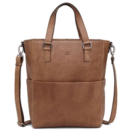 Adax - Napoli Nikki Business Shopper - Cognac