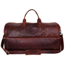 Adax - Alladin Dufour Weekendbag 118746 - Dark Brown