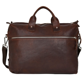 Adax - Catania Emil Briefcase 122146 - Dark Brown