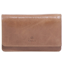 Adax - Salerno Mira Wallet 130669 - Brown Sugar