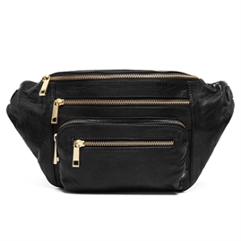 Depeche - Golden Deluxe Large Bum Bag 13280 - Black