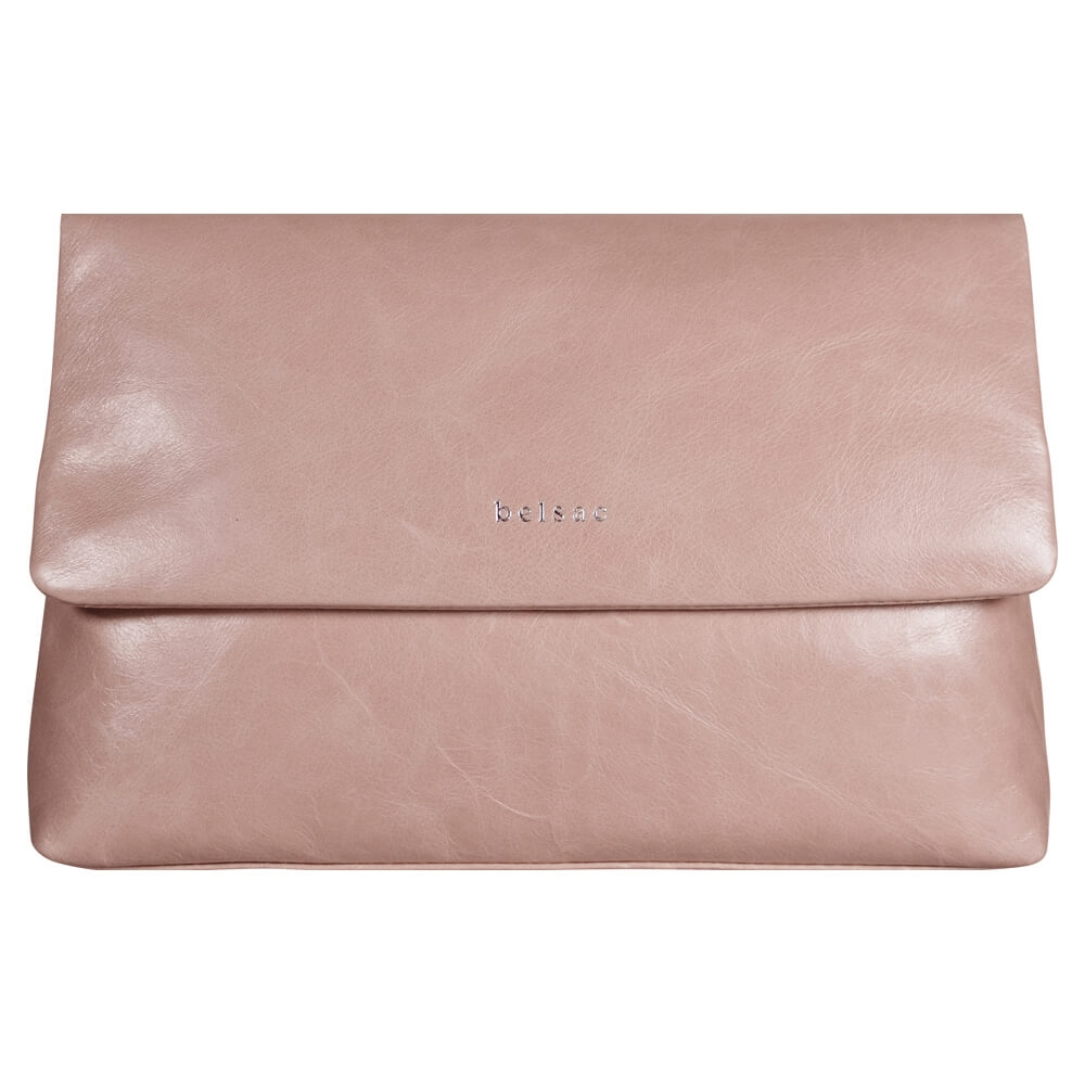 Belsac - Josie Clutch - Dusty Rose