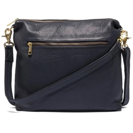 Depeche - Golden Deluxe Medium Bag 13848 - Dark Blue