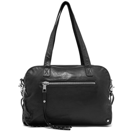 Depeche - Punk Chic Large Bag 14086 - Black