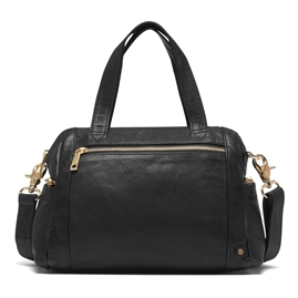 Depeche - Golden Chic Medium Bag 14118 - Black