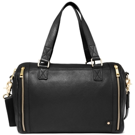 Depeche - Golden Chic Large Bag 14124 - Black