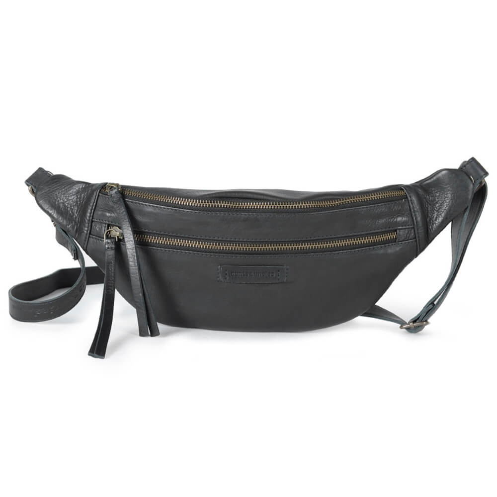 Aunts & uncles - Jamie\'s Orchard - Banana Bum bag - Jet Black