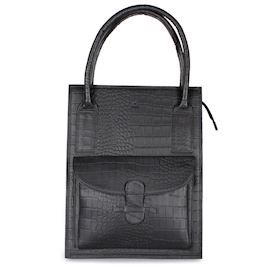 Adax - Ragusa Tina Shopper 242245 - Black Croco