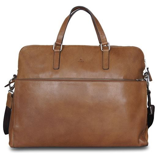 "Adax - Napoli Michelle 17"" Working Bag 271325 - Cognac"