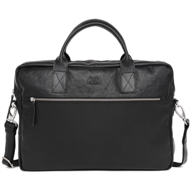 "Adax - Catania Tobias 13"" Briefcase 277546 - Black"