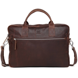 "Adax - Catania Tobias 13"" Briefcase 277546 - Dark Brown"