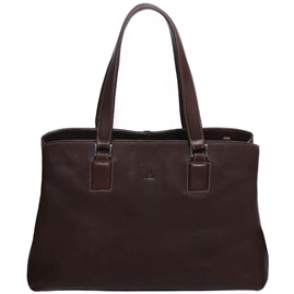 Adax - Cormorano Fanny Shopper 279892 - Coffee