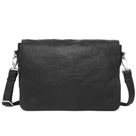 Adax - Catania Pilou Messenger Bag - Black