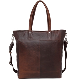 Adax - Catania Matti Shopper - Dark Brown