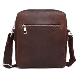Adax - Catania Aage Messenger Bag - Dark Brown