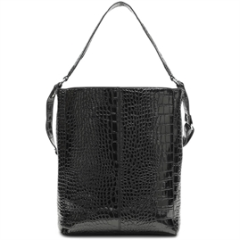 Unlimit - Carry shopper - Black Kroko