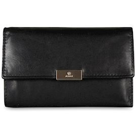 Adax - Prague Gunilla Wallet 401801 - Black