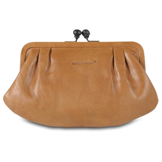 Aunts & uncles - Grandma\'s Luxury Club - Rose Clutch - Caramel