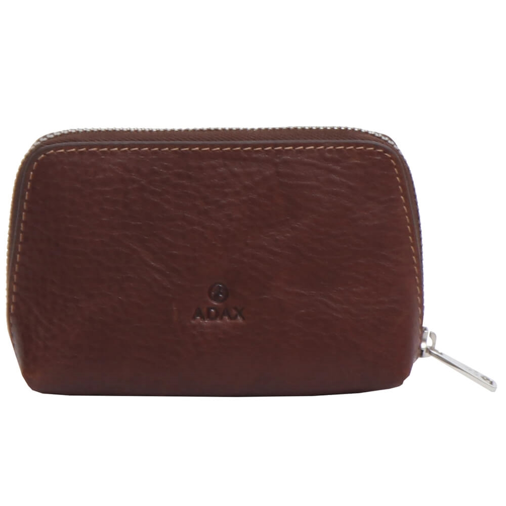 Adax- Cormorano Abelone Purse 462292 - Coffee