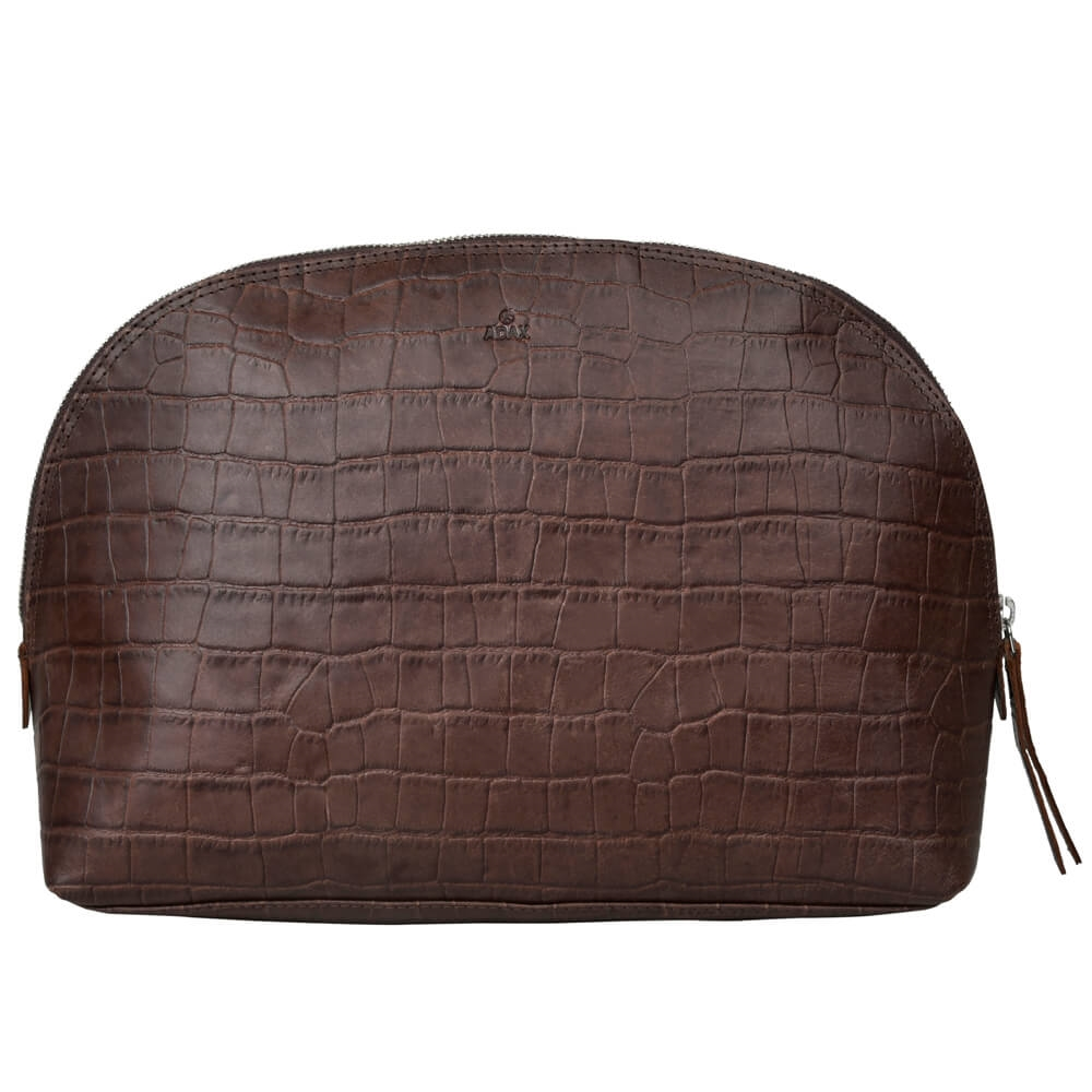 Adax- Teramo ECO Paula Toilet Bag 471997 - Dark Brown