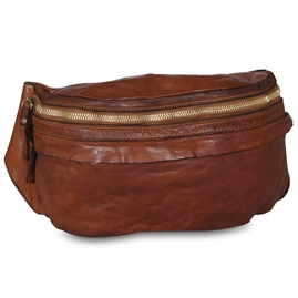 Campomaggi - Bum Bag Large - Cognac & Gold