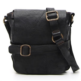 Campomaggi - Small Crossbody Bag - Black
