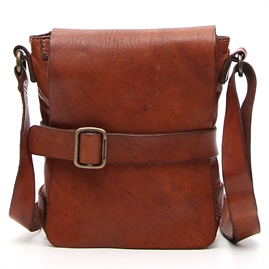 Campomaggi - Small Crossbody Bag - Cognac