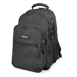 "Eastpak - Tutor  Rygsæk til 16/17"" laptop - Black Denim"