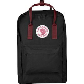 "Fjällräven - Kånken 15"" laptop Rygsæk - Black & Ox Red"