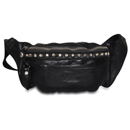 Campomaggi - Bumbag with studs - Black