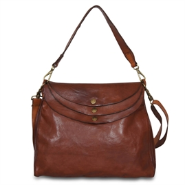 Campomaggi - Shoulderbag Large - Cognac