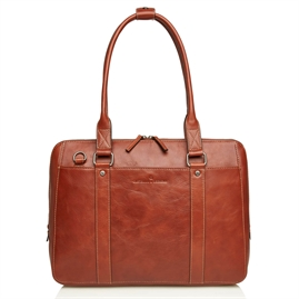 "Castelijn & Beerens - Verona Businessbag 15,6"" - Light Brown"