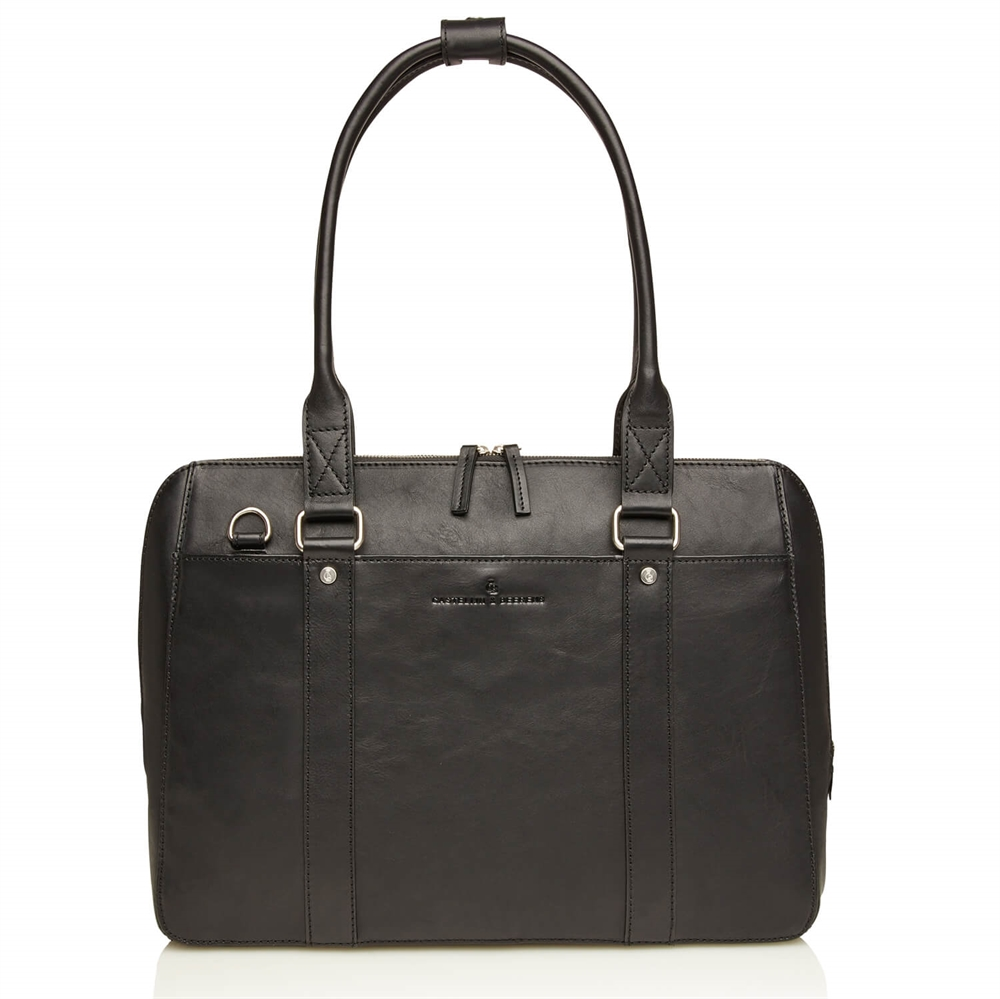 "Castelijn & Beerens - Verona Businessbag 15,6"" - Black"