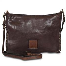 Campomaggi - Pochette Bag with studs - Brown