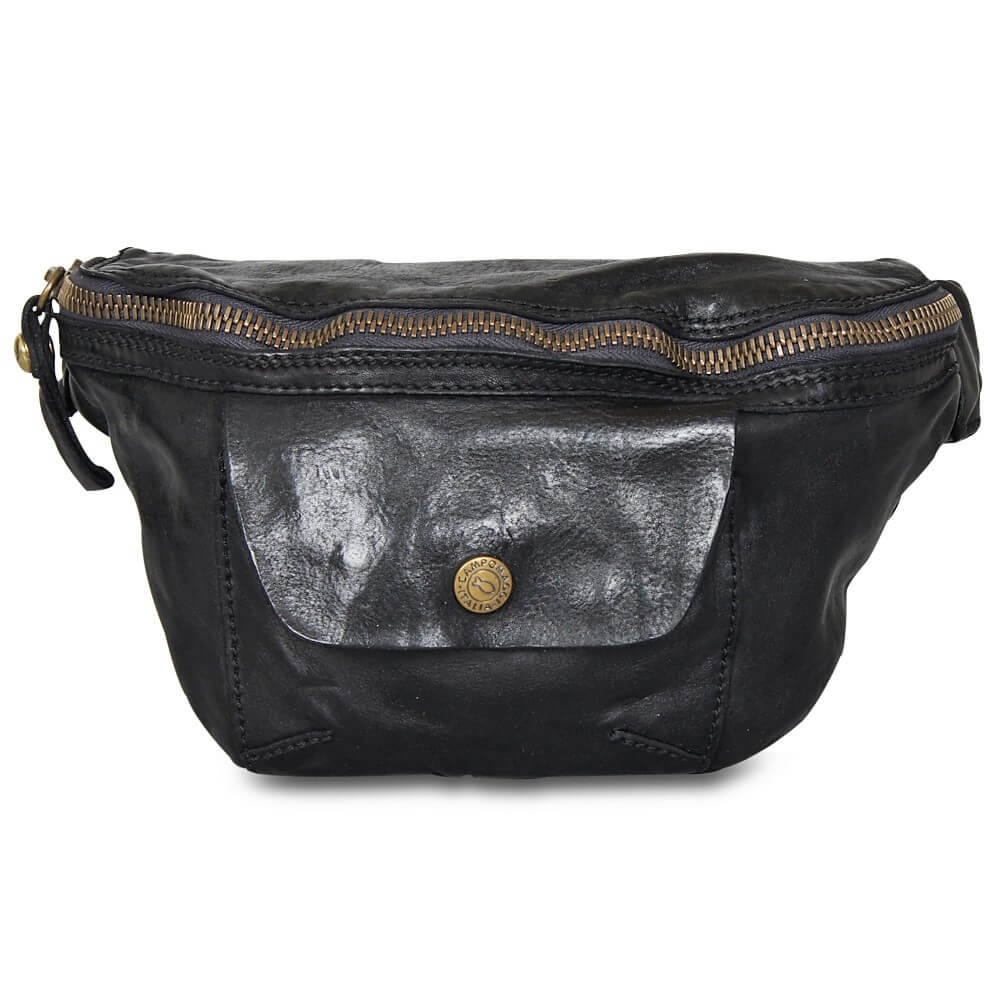 Campomaggi - Bum Bag with pocket 9050 - Black