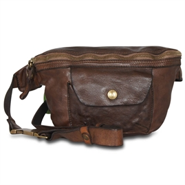 Campomaggi - Bum Bag with pocket - Brown