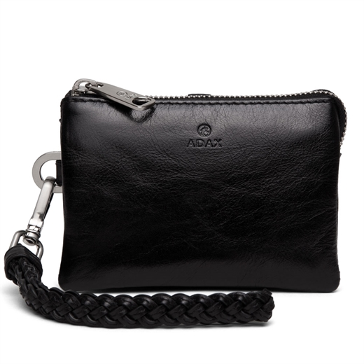 Adax - Salerno Nille Small Clutch 130269 - Black