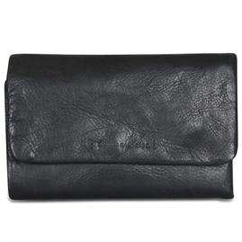 Aunts & uncles - Jamie's Orchard - Peach Ladies Purse - Jet Black
