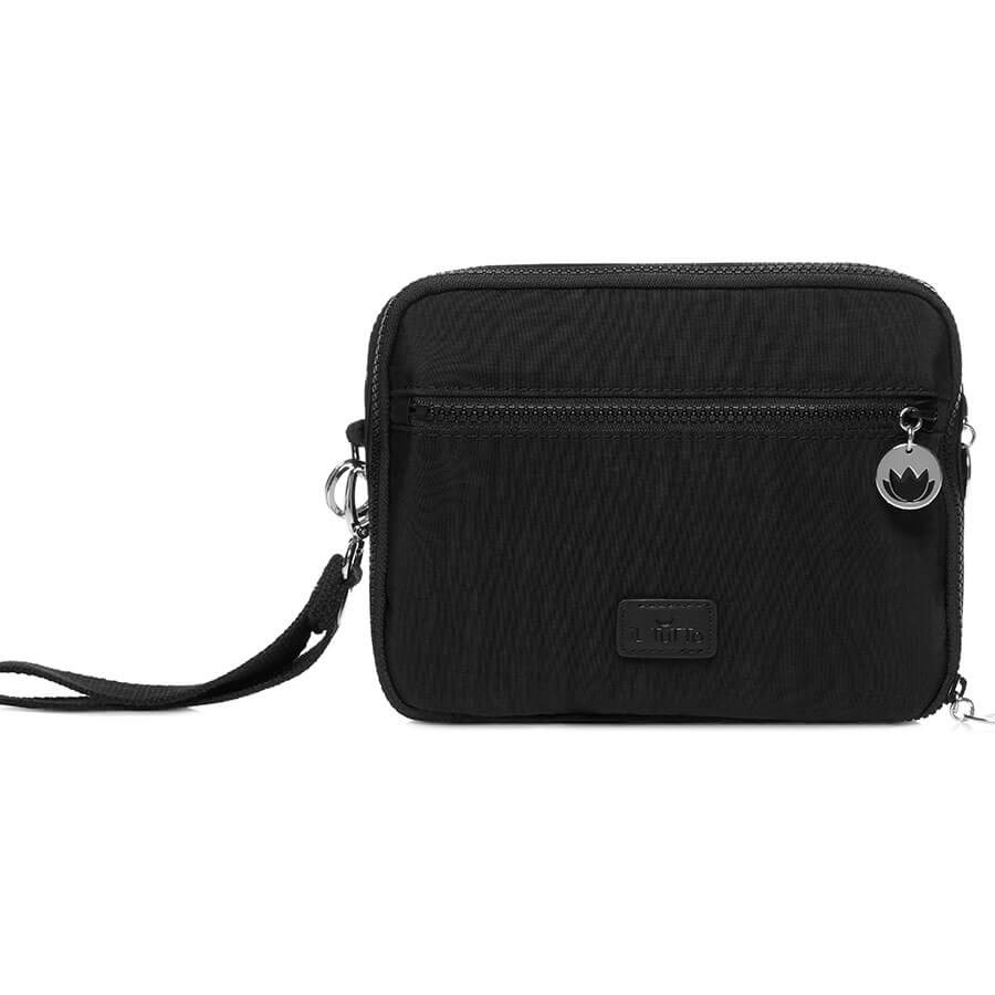 Il Tutto - Milo Nappy Changer All-in-One - Black & Silver