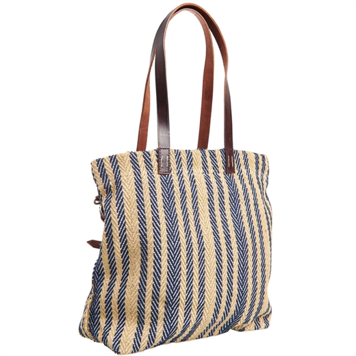 Superdry - Casual Tote - Navy Stripe