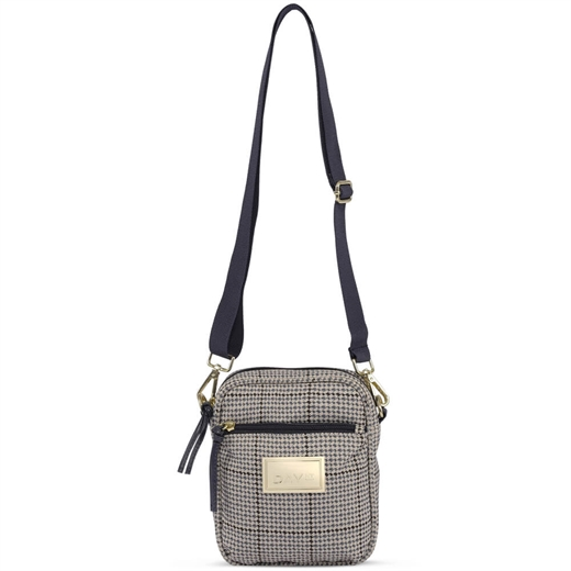 DAY ÉT - GW Check Crossover Bag Small - Blue Nights